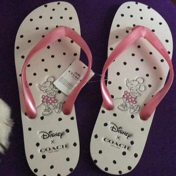 4b3e21185c3 BNWT Disney coach sandals- super cute- brand new